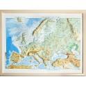 Mapa en relieve de Europa. Físico