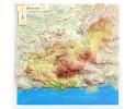 Provincia de Granada en relieve