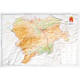 Provincia de Albacete en relieve