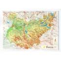 Provincia de Badajoz en relieve