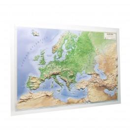 Mapa en relieve de Europa